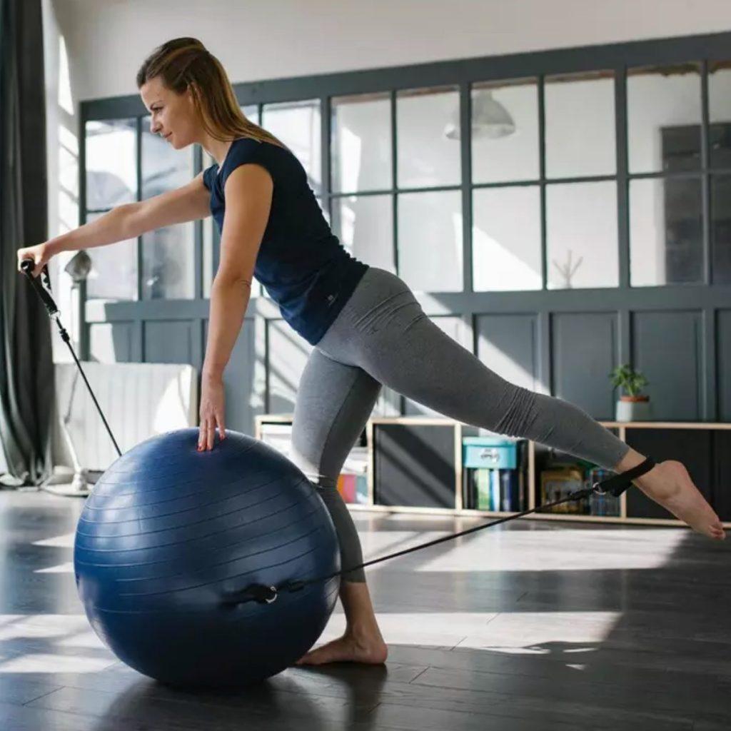 Funciones del uso de la Pelota Pilates para Fitball