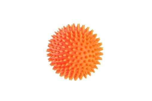 Pelota Erizo color naranja
