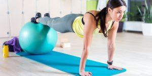 Utilizar la Pelota Pilates en casa